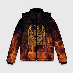 Куртка зимняя для мальчика Slayer: Fire Eagle цвета 3D-черный — фото 1
