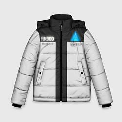 Куртка зимняя для мальчика RK900: Become Human цвета 3D-черный — фото 1