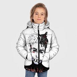 Куртка зимняя для мальчика XXXtentacion: Darkman цвета 3D-черный — фото 2