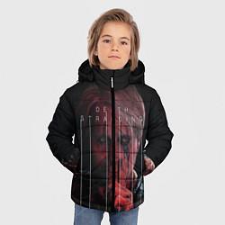 Куртка зимняя для мальчика Death Stranding цвета 3D-черный — фото 2