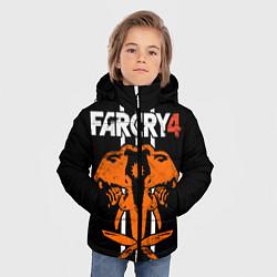 Куртка зимняя для мальчика Far Cry 4: Orange Elephant цвета 3D-черный — фото 2