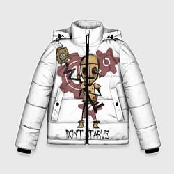 Куртка зимняя для мальчика Don't Starve: WX-78 цвета 3D-черный — фото 1
