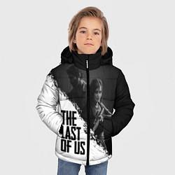 Куртка зимняя для мальчика The Last of Us: White & Black цвета 3D-черный — фото 2