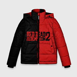 Куртка зимняя для мальчика RDD 2: Black & Red цвета 3D-черный — фото 1