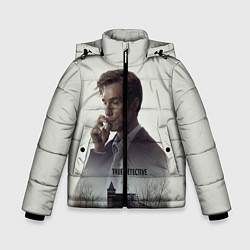 Куртка зимняя для мальчика True Detective: Autumn цвета 3D-черный — фото 1