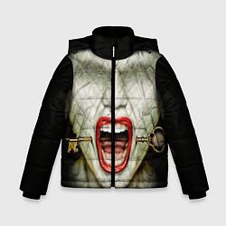 Куртка зимняя для мальчика AHS: Scream цвета 3D-черный — фото 1