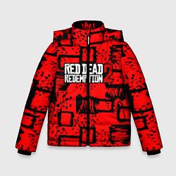 Куртка зимняя для мальчика Red Dead Redemption 2 цвета 3D-черный — фото 1
