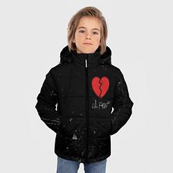 Куртка зимняя для мальчика Lil Peep: Broken Heart цвета 3D-черный — фото 2