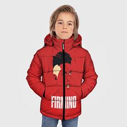 Куртка зимняя для мальчика Firmino цвета 3D-черный — фото 2