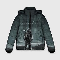 Куртка зимняя для мальчика Death Stranding: Dark Space цвета 3D-черный — фото 1
