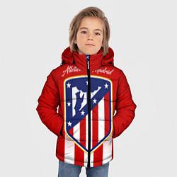Куртка зимняя для мальчика ФК Атлетико Мадрид цвета 3D-черный — фото 2