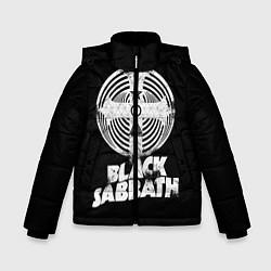 Детская зимняя куртка для мальчика с принтом Black Sabbath: Faith, цвет: 3D-черный, артикул: 10170572106063 — фото 1