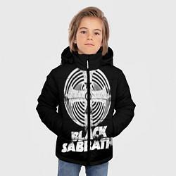 Куртка зимняя для мальчика Black Sabbath: Faith цвета 3D-черный — фото 2