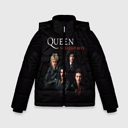 Куртка зимняя для мальчика Queen: Greatests Hits цвета 3D-черный — фото 1