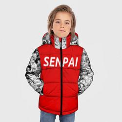 Куртка зимняя для мальчика SENPAI цвета 3D-черный — фото 2