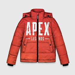 Куртка зимняя для мальчика Apex Legends: Red Logo цвета 3D-черный — фото 1