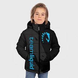 Куртка зимняя для мальчика TEAM LIQUID цвета 3D-черный — фото 2