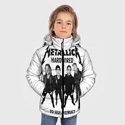 Куртка зимняя для мальчика Metallica: Hardwired цвета 3D-черный — фото 2