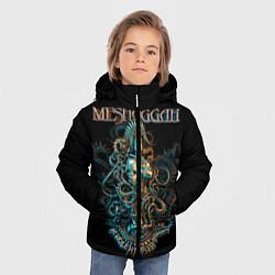 Детская зимняя куртка для мальчика с принтом Meshuggah: Violent Sleep, цвет: 3D-черный, артикул: 10172770706063 — фото 2