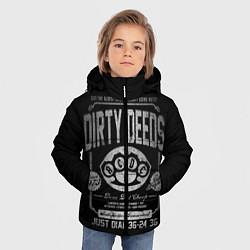 Куртка зимняя для мальчика AC/DC: Dirty Deeds цвета 3D-черный — фото 2
