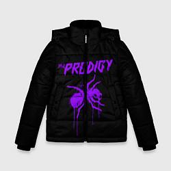 Куртка зимняя для мальчика The Prodigy: Violet Ant цвета 3D-черный — фото 1