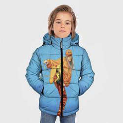 Куртка зимняя для мальчика Billie Eilish: Kick цвета 3D-черный — фото 2