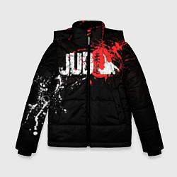 Куртка зимняя для мальчика Judo Blood цвета 3D-черный — фото 1