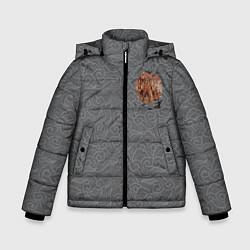 Куртка зимняя для мальчика Rebel Alliance цвета 3D-черный — фото 1