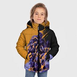 Куртка зимняя для мальчика Avengers цвета 3D-черный — фото 2