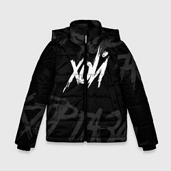 Куртка зимняя для мальчика Сектор Газа - ХОЙ цвета 3D-черный — фото 1