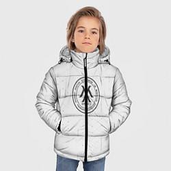 Детская зимняя куртка для мальчика с принтом Monsta x, цвет: 3D-черный, артикул: 10187085506063 — фото 2