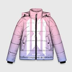 Детская зимняя куртка для мальчика с принтом Monsta X, цвет: 3D-черный, артикул: 10187558906063 — фото 1