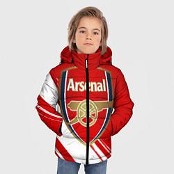 Куртка зимняя для мальчика Arsenal цвета 3D-черный — фото 2