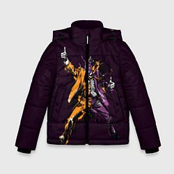 Куртка зимняя для мальчика Two-Face цвета 3D-черный — фото 1