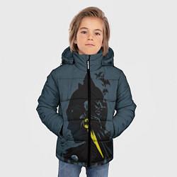 Куртка зимняя для мальчика Batman цвета 3D-черный — фото 2