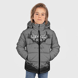 Куртка зимняя для мальчика Bbatman 80th anniversary цвета 3D-черный — фото 2