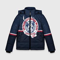 Куртка зимняя для мальчика Gotham City Motor Works цвета 3D-черный — фото 1