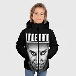 Куртка зимняя для мальчика LINDEMANN цвета 3D-черный — фото 2