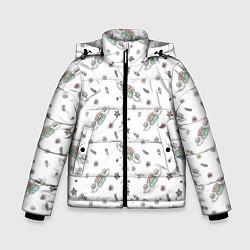 Куртка зимняя для мальчика Central Perk цвета 3D-черный — фото 1