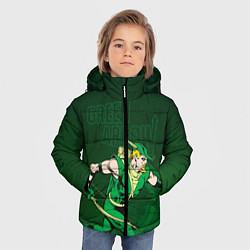 Куртка зимняя для мальчика Green Arrow цвета 3D-черный — фото 2