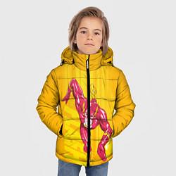 Куртка зимняя для мальчика Flash цвета 3D-черный — фото 2