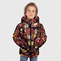 Куртка зимняя для мальчика UNDERTALE CHARA цвета 3D-черный — фото 2
