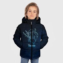 Куртка зимняя для мальчика Телец 3D цвета 3D-черный — фото 2