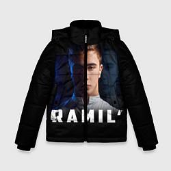 Куртка зимняя для мальчика Ramil' цвета 3D-черный — фото 1