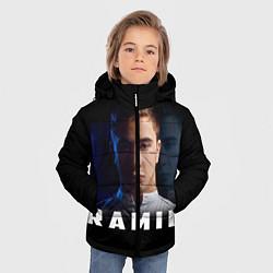 Куртка зимняя для мальчика Ramil' цвета 3D-черный — фото 2
