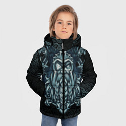 Куртка зимняя для мальчика Odinn цвета 3D-черный — фото 2