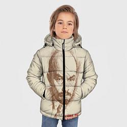 Куртка зимняя для мальчика Ленин цвета 3D-черный — фото 2