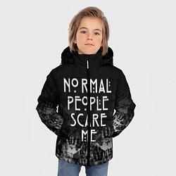 Куртка зимняя для мальчика AHS цвета 3D-черный — фото 2