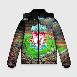 Куртка зимняя для мальчика FC Liverpool цвета 3D-черный — фото 1