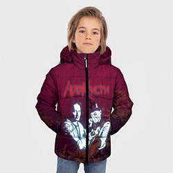 Куртка зимняя для мальчика Агата Кристи цвета 3D-черный — фото 2